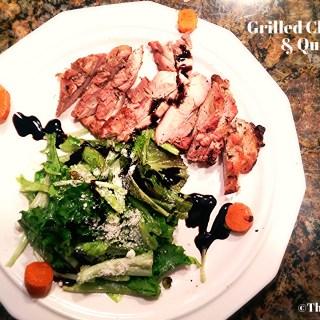 Grilled Chicken Thigh & Quick Salad