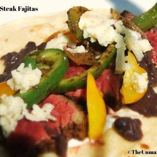 Hanger Steak Fajitas