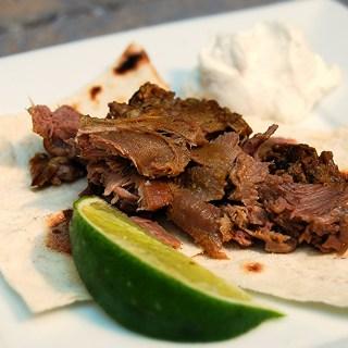Persian Lamb Tongue Tacos