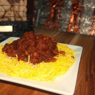 Khoresht Gheimeh – Lamb, Split Pea and Dried Lime Stew