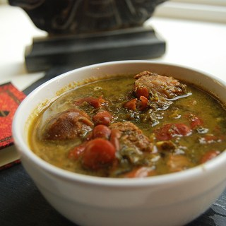5 Days 5 Lunches: Khoresh Ghormeh Sabzi – Persian Herb Stew