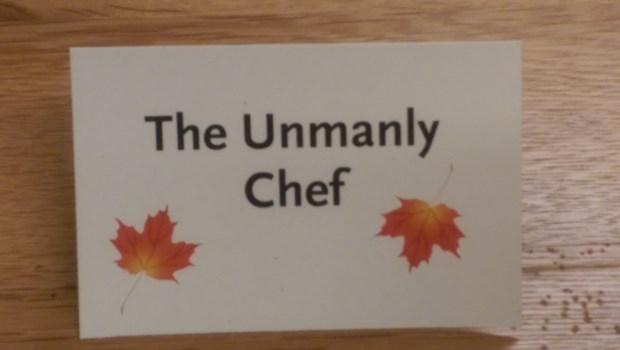The Unmanly Chef