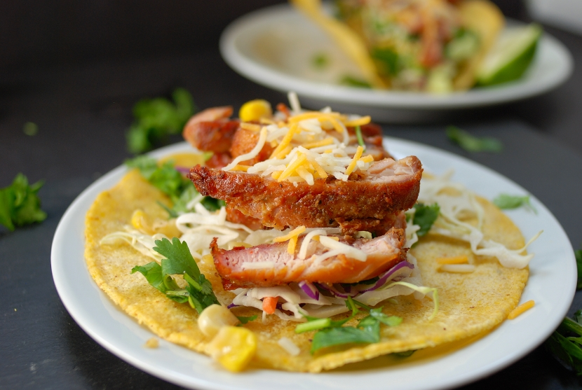 Smoked Chicken Taco