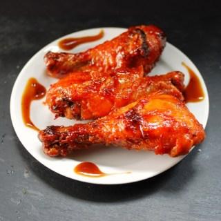 Honey Sriacha Chicken Legs