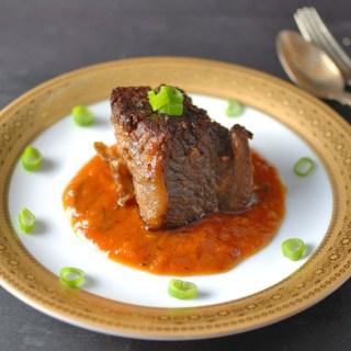 Gochujang Braised Beef Short Rib