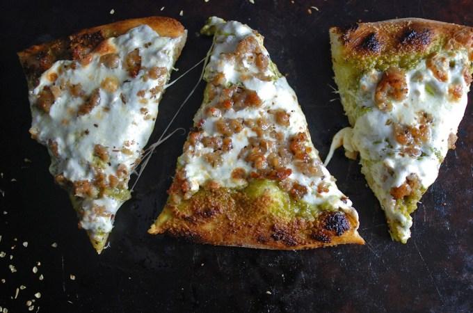 Pesto Pizza 1