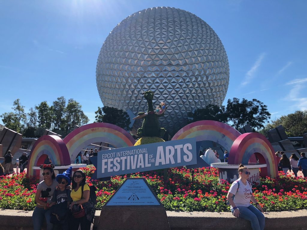 Epcot 2019 Festival of the Arts Unofficial tips