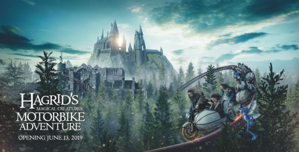 Hagrid's Magical Creatures Motorbike Adventure poster