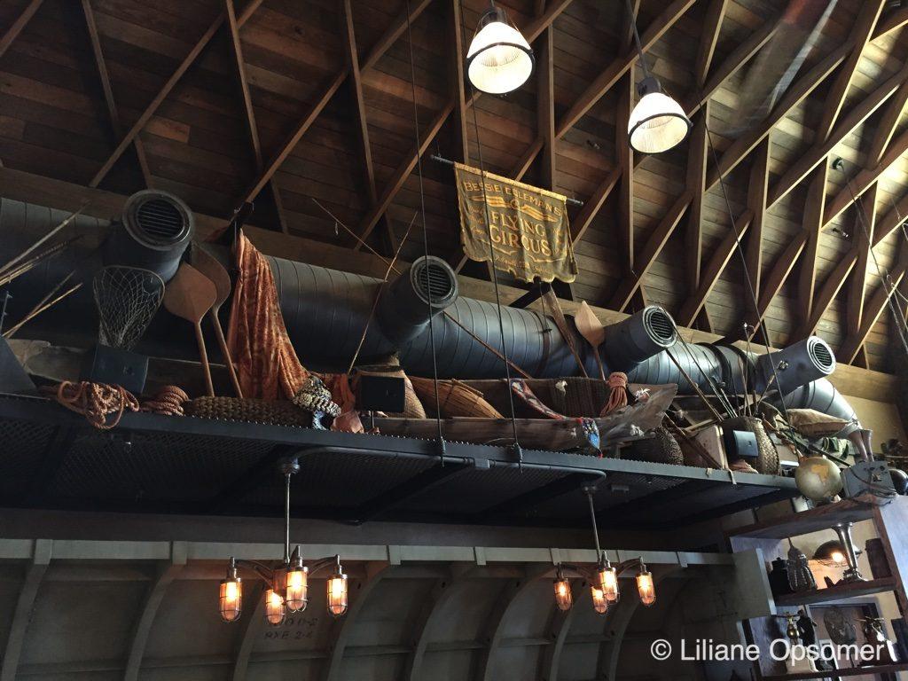 Jock Lindsey's Hangar Bar memorabilia