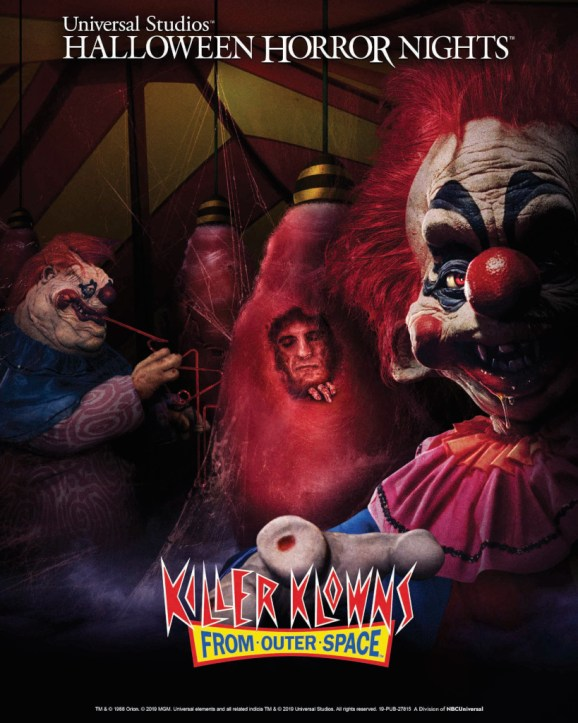 Killer Klowns from Outer Space Mazes at Halloween Horror Nights 2019