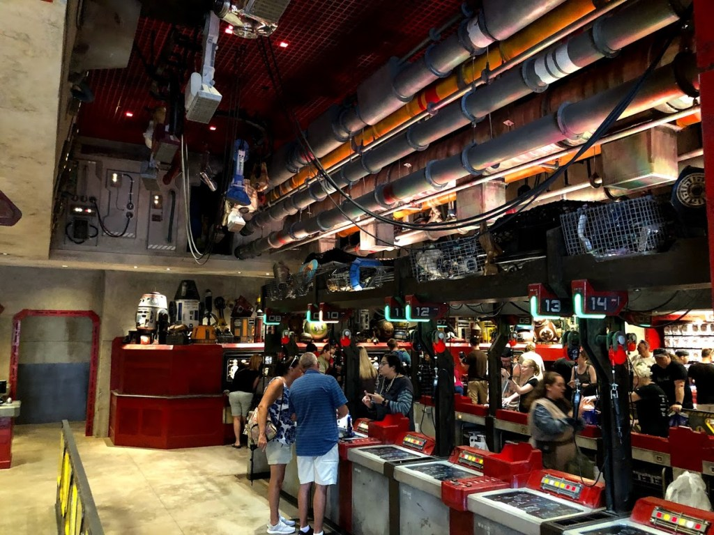 Star Wars Galaxy's Edge Droid Depot