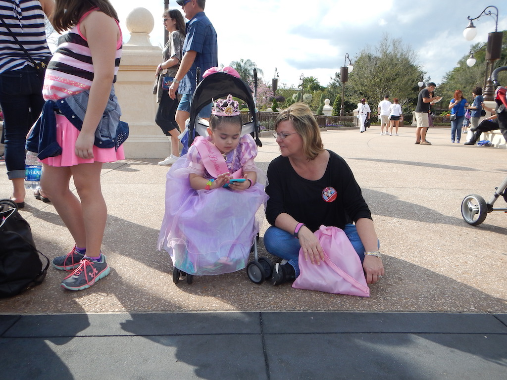Strollers at Walt Disney World