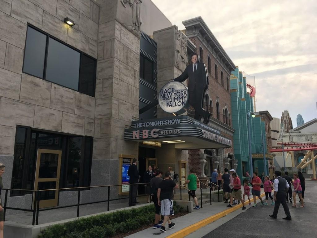 Race Through New York Starring Jimmy Fallon VIP Studio Tour attraction entrance