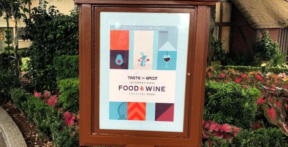 2020 Taste of Epcot Food Wine Festival Featured