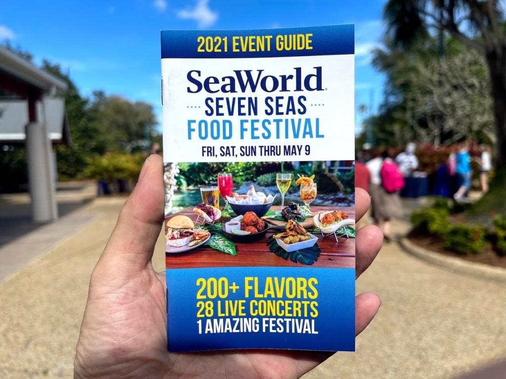 SeaWorld 2021 Seven Seas Food Festival event guide
