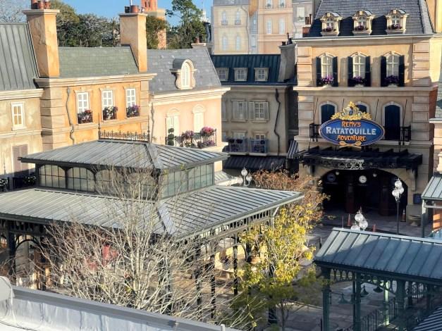 Remy's Ratatouille Adventure exterior Epcot World Showcase France Walt Disney World