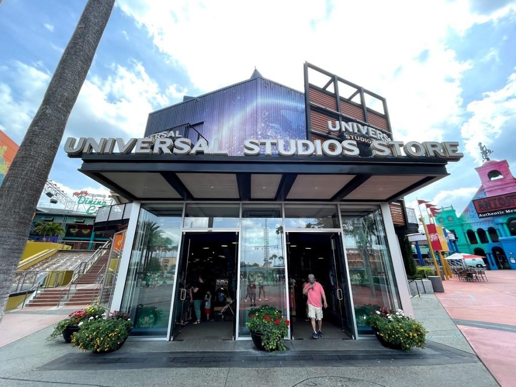 Universal Orlando CityWalk Studios Store entrance retro makeover