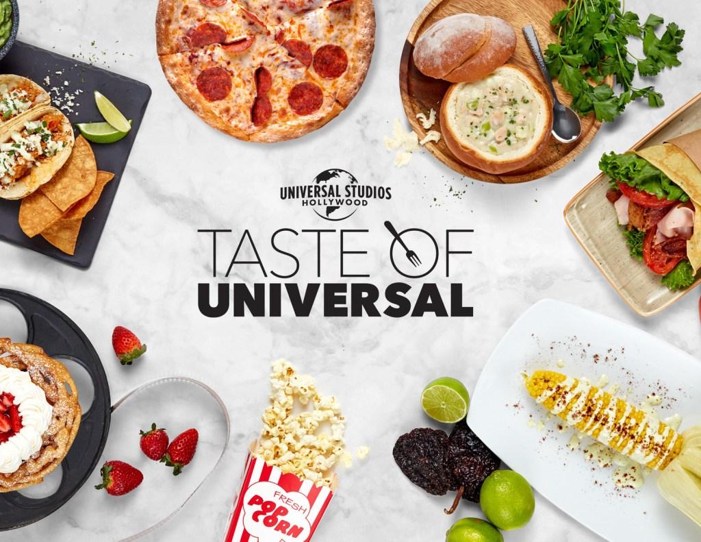 Taste of Universal event logo