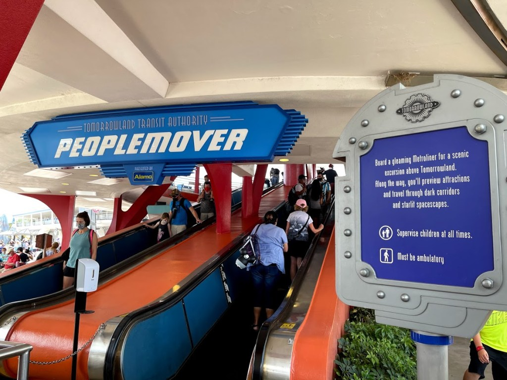 Tomorrowland Transit Authority PeopleMover reopened