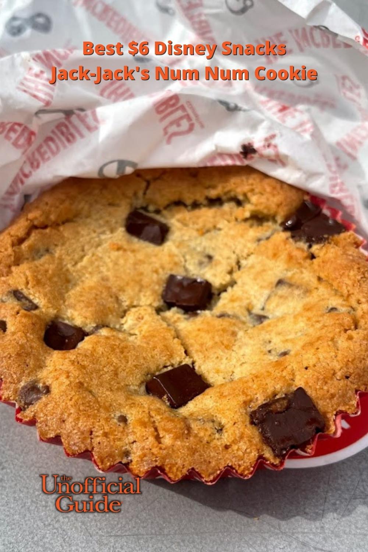 Best $6 Disney Snacks: Jack-Jack\'s Num Num Cookie