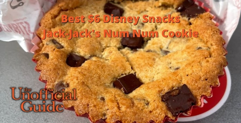 Best $6 Disney Snacks Jack-Jack's Num Num Cookie