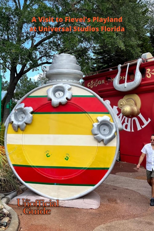 A Visit to Fievel's Playland at Universal Studios Florida