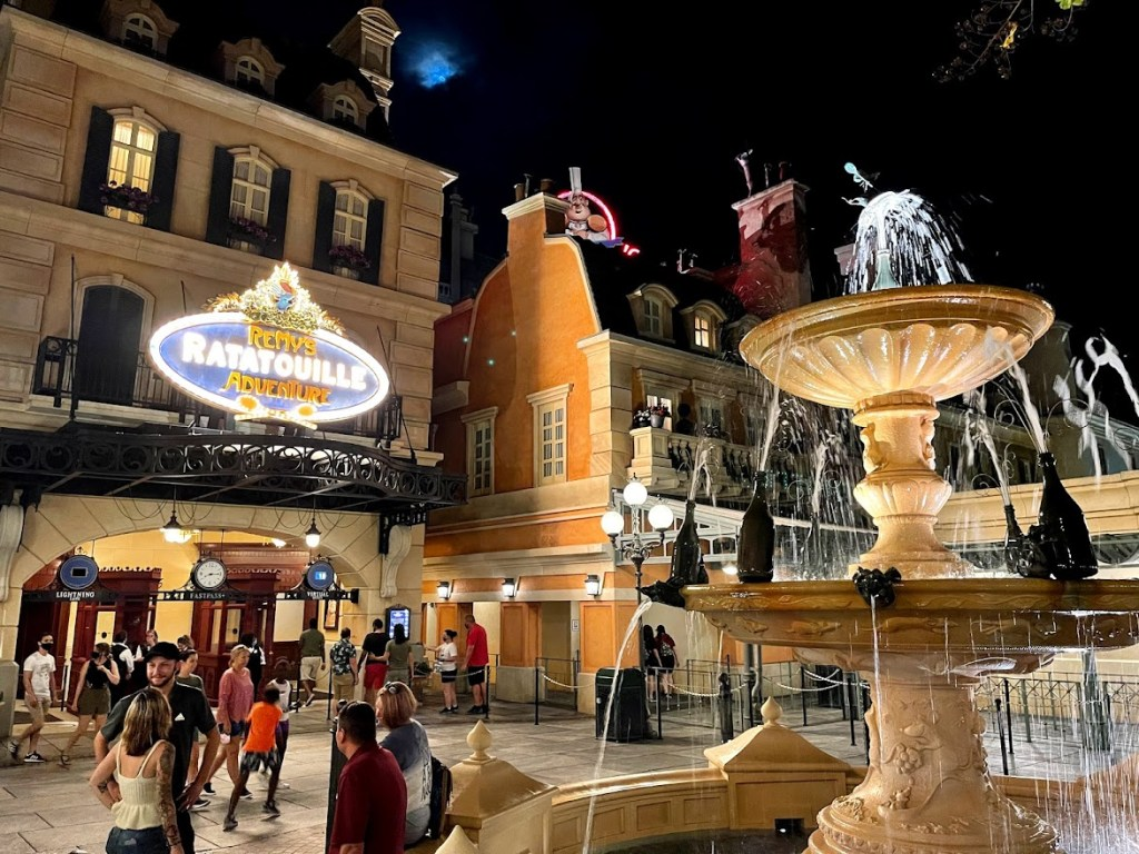 Remy's Ratatouille Adventure EPCOT entrance