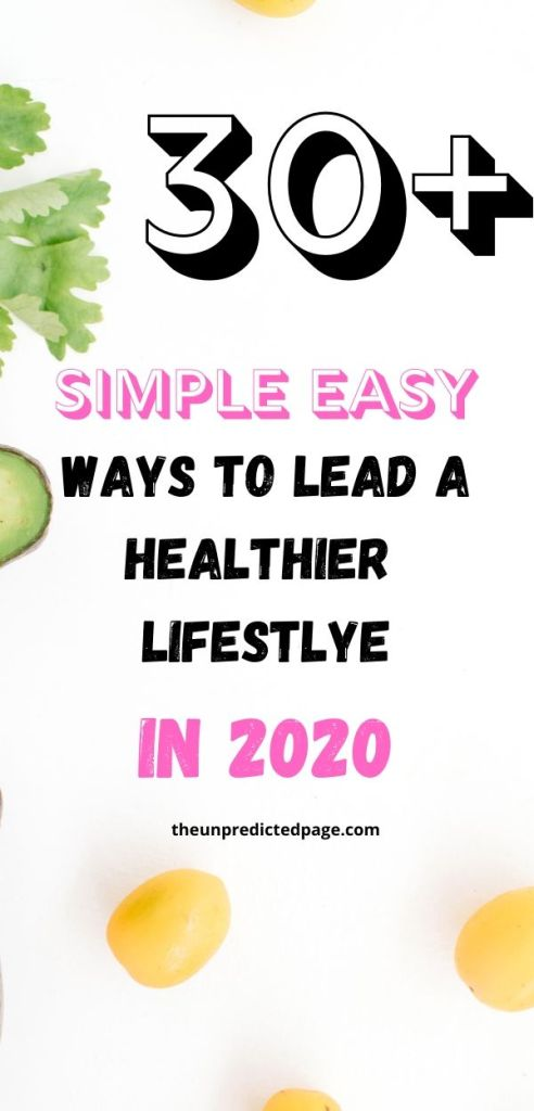 How to start living a healthier lifestyle