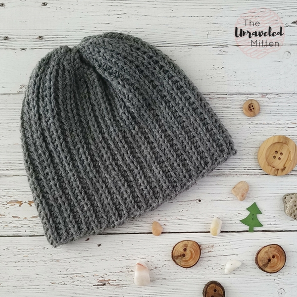 The Superior Beanie Free Knit Look Crochet Pattern