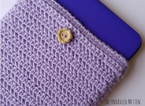 Crochet laptop Sleeve