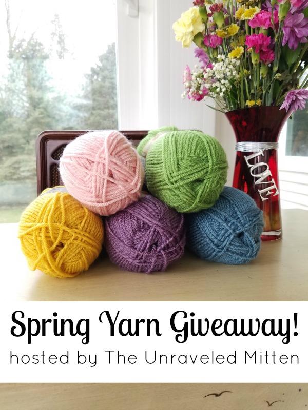 Spring Yarn Giveaway