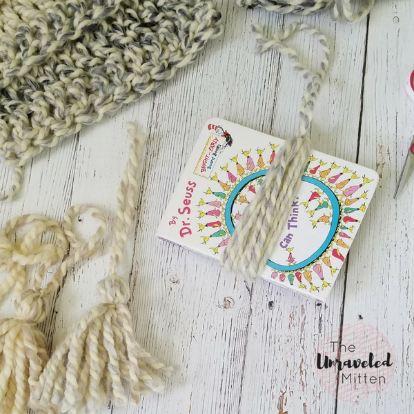 Easy Super Scarf   Free Crochet Pattern   The Unraveled Mitten   Tassel