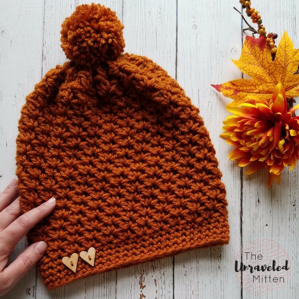 Wildwood Crochet Slouchy Beanie Pattern The Unraveled Mitten