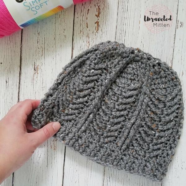 Mackinac Beanie Free Crochet Pattern The Unraveled Mitten