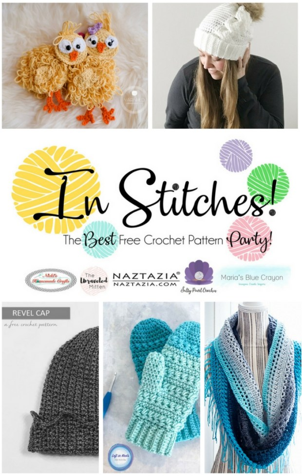 In Stitches: The Best Free Crochet Pattern Party | The Unraveled Mitten | Crochet Pattern Round up