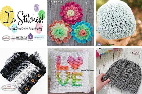 In stitches 1 | The Best Free Crochet Pattern Party