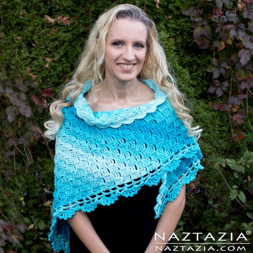 Splendid Shawl | Free Crochet Pattern | 9 Crochet Shawls for Spring Round up by The Unraveled Mitten