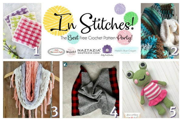 In Stitches : Best Free Crochet Pattern Party | The Unraveled Mitten