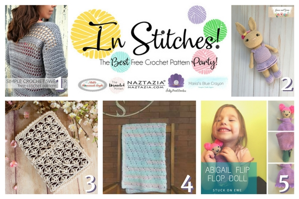 In Stitches Best Free Crochet Patten Party #8 Round Up | The Unraveled Mitten