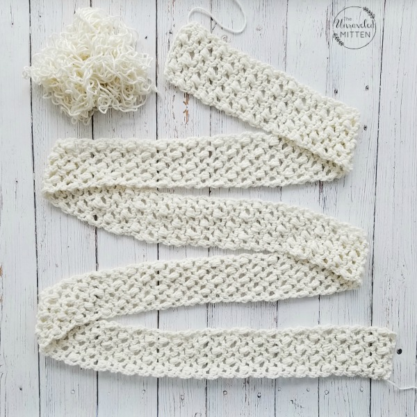 Easy Lace Scarf: Free Crochet Pattern | The Unraveled Mitten