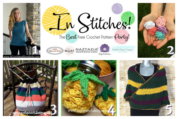 In Stitches | Best Free Crochet Pattern Party 12 | The Unraveled Mitten