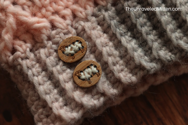 Sheep Buttons by Katrinkles | The Unraveled Mitten