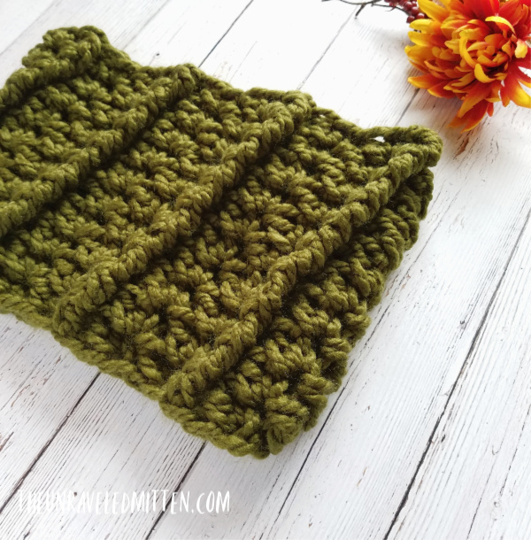 Wildwood Chunky Cowl | Free Crochet Pattern | The Unraveled Mitten