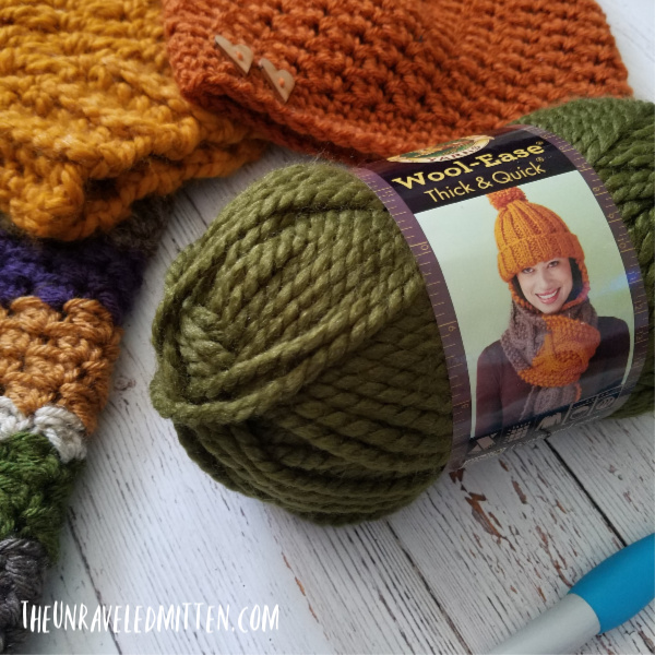 Lion Brand Wool-Ease Thick and Quick | The Unraveled Mitten