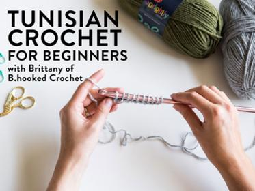 Learn Tunisian Crochet with this Online Course