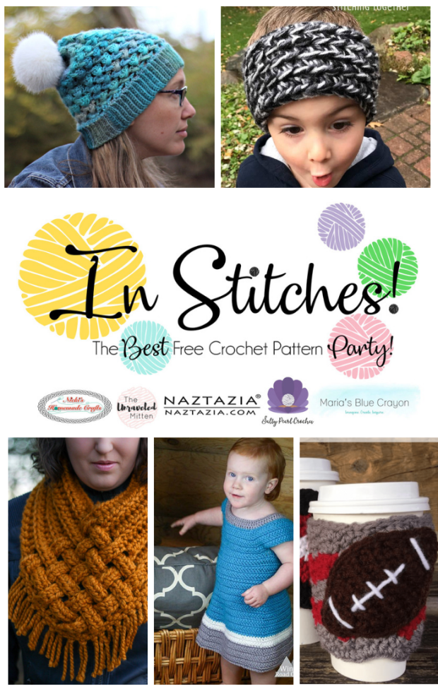 In Stitches #23 | Free Crochet Pattern Party | The Unraveled Miitten