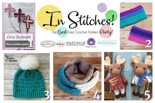In Stitches #25 | Free Crochet Pattern Link Party