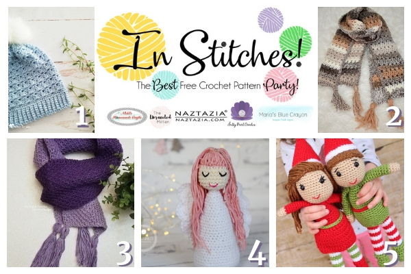 In Stitches Free Crochet Pattern Link Party #26