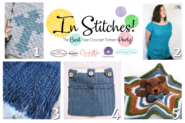 In stitches #32 | Best Free Crochet Pattern Party | The Unraveled Mitten