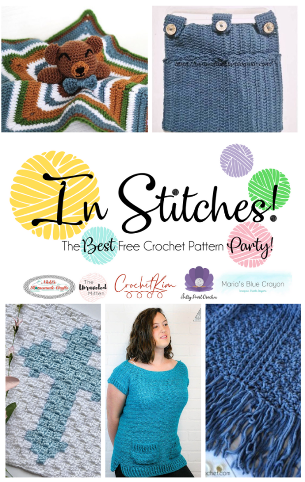 In Stitches #32 | Best Free Crochet Pattern Link Party | The Unraveled Mitten